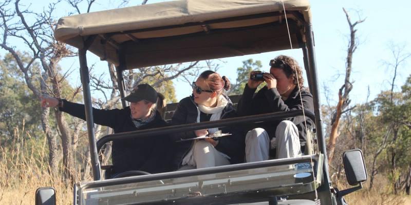 Zuid-Afrika Welgevonden Conservation and Research Data verzamelen