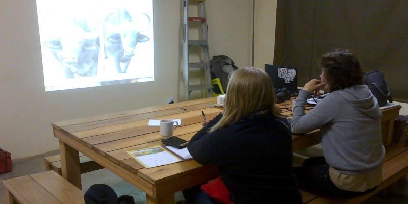 Zuid-Afrika Welgevonden Conservation and Research Lisette identifactie buffels