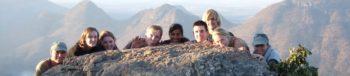 Zuid-Afrika groepsfoto blyde canyon