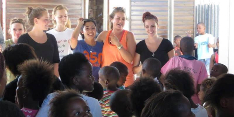 Zuid-Afrika vrijwilligerswerk Kaapstad DIY kids van GAPA