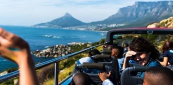 Zuid-Afrika vrijwilligerswerk kaapstad DIY GAPA uitje in de bus