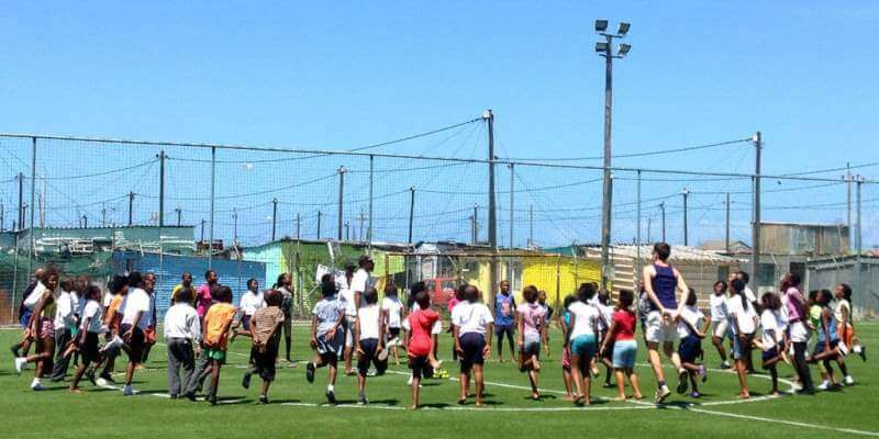 Zuid-Afrika vrijwilligerswerk kaapstad DIY sport