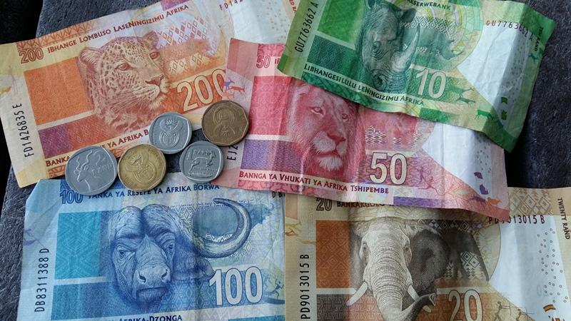 Zuid=Afrika geld