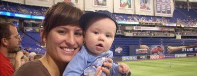 Au Pair Amerika baseball baby
