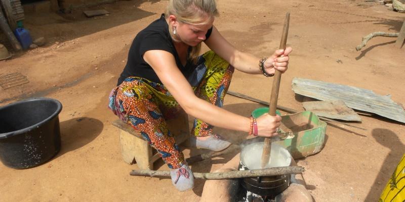 Ghana vrijwilligerswerk Accra koken
