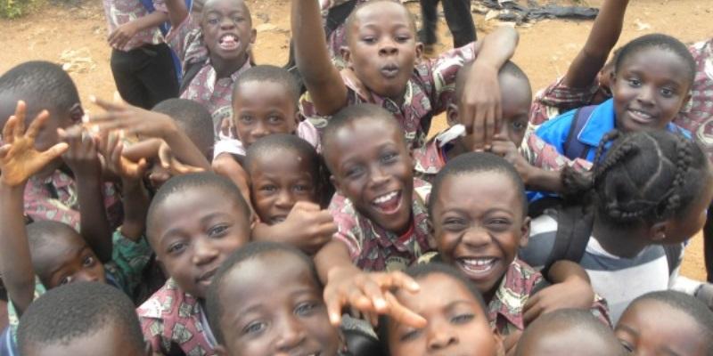 Ghana vrijwilligerswerk Accra schooljongetjes
