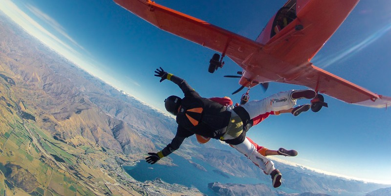Skydive Nieuw-Zeeland