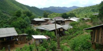 Olifantenproject Thailand accommodatie in dorpje