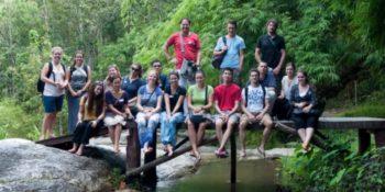 Thailand Kickstart Thailand groep vrijwilligers