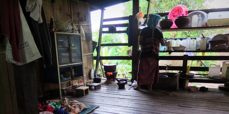 Thailand Olifantenproject Homestay foto Lidy