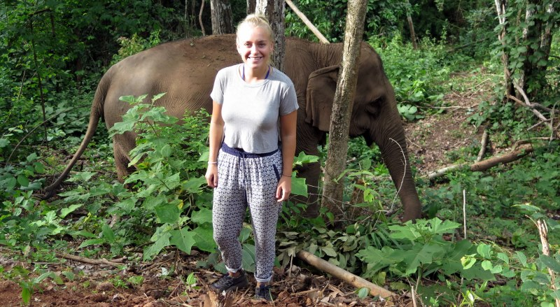 Thailand Olifantenproject Lidy