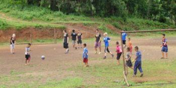 Thailand Olifantenproject voetballen
