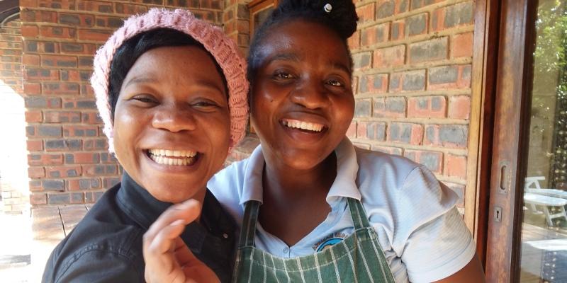 Zuid-Afrika Zululand Mumsy and Shwele