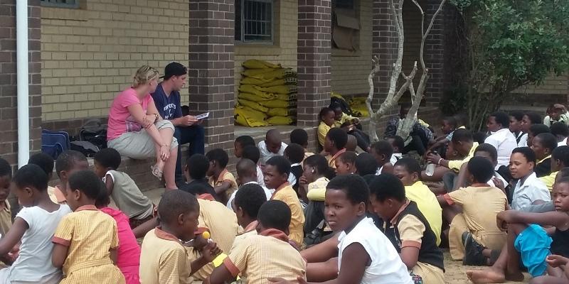 Zuid-Afrika Zululand kinderopvang