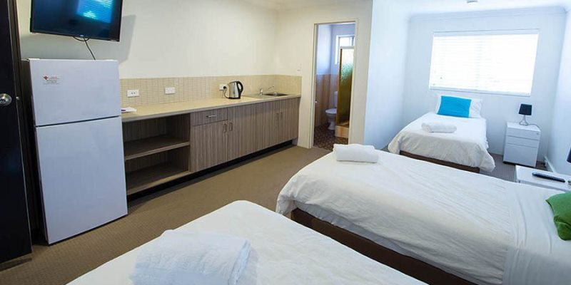 Australie Surf College accommodatie