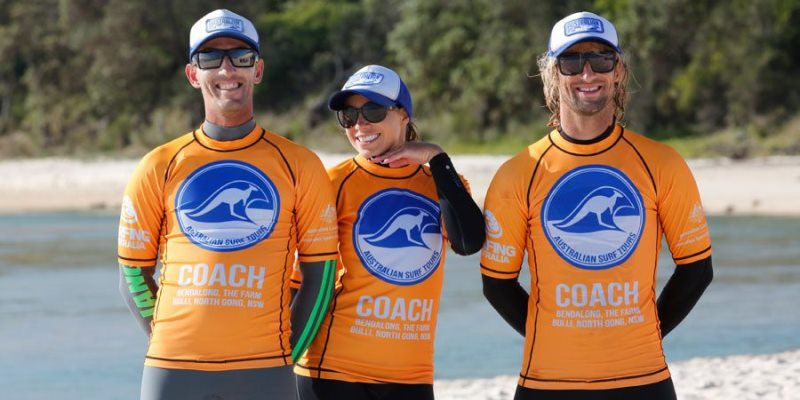 Australie Surf College coaches