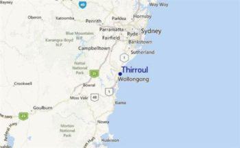 Australie Surf College locatie