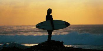 Australie Surf College sunset