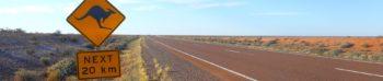 Australië routes in Australië