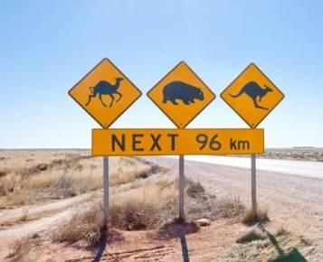 Australie routes