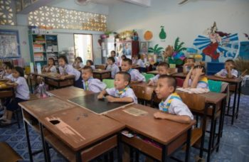 Centraal Thailand Engelse les