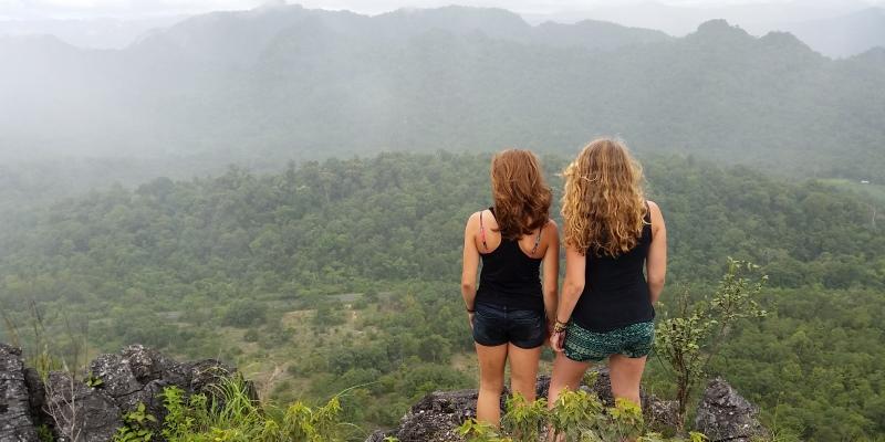 Centraal Thailand trekking