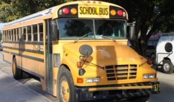 High School Amerika schoolbus