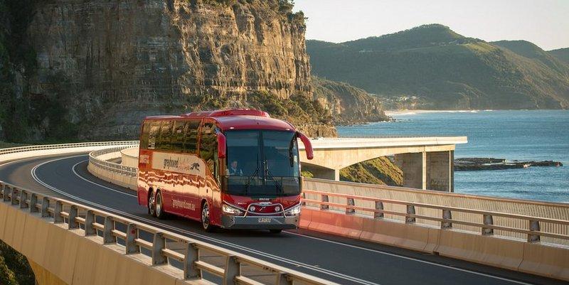 Australie vervoer in Australie Grreyhound bus