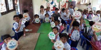 Bali vrijwilligerswerk en cultuur kleuterklas