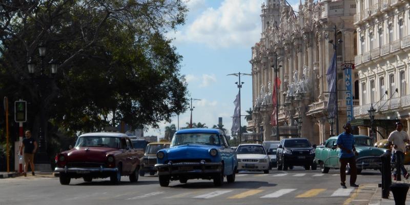 Cuba vrijwilligerswerk Havana downtown