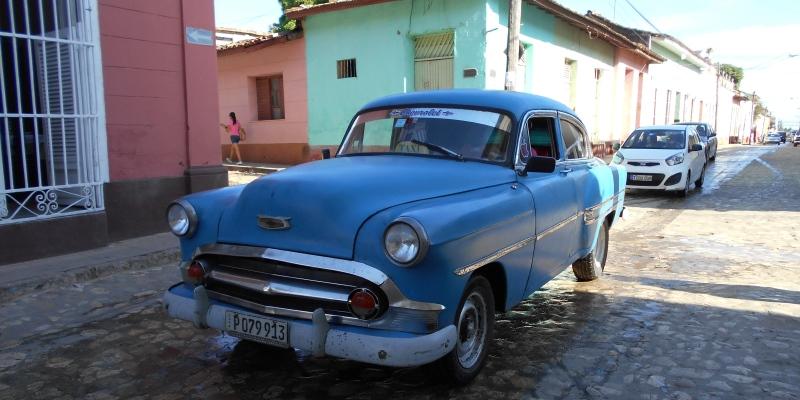 Cuba vrijwilligerswerk Havana oldtimer