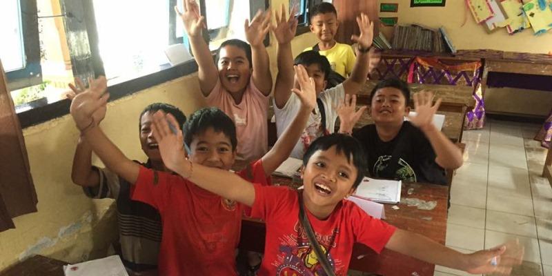 Indonesie Bali cultuur en lesgeven Bali klasje