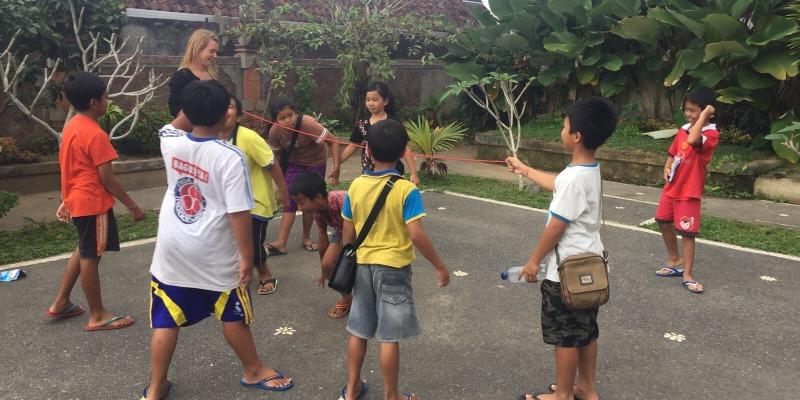 Indonesie Bali cultuur en lesgeven Bali vrijwilligerswerk