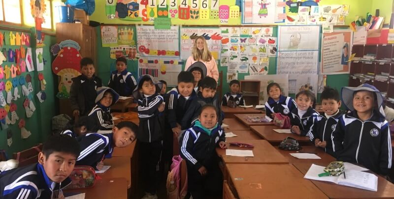 Kickstart Peru volunteering Cusco
