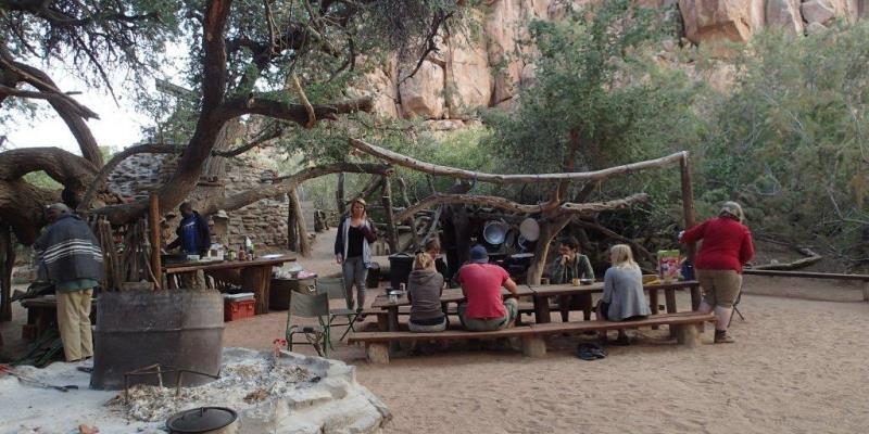 Namibia Expedition Basiskamp