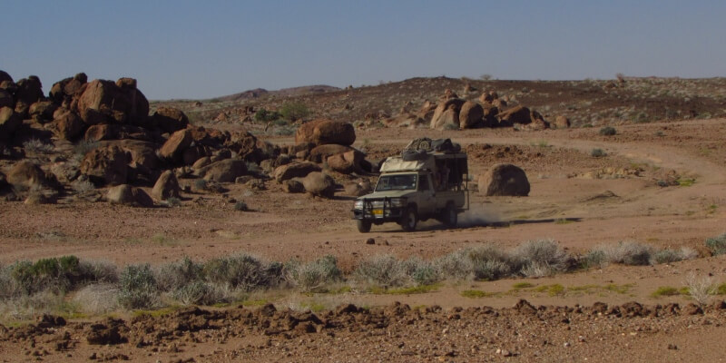 Namibie olifantenproject Patrol week 6