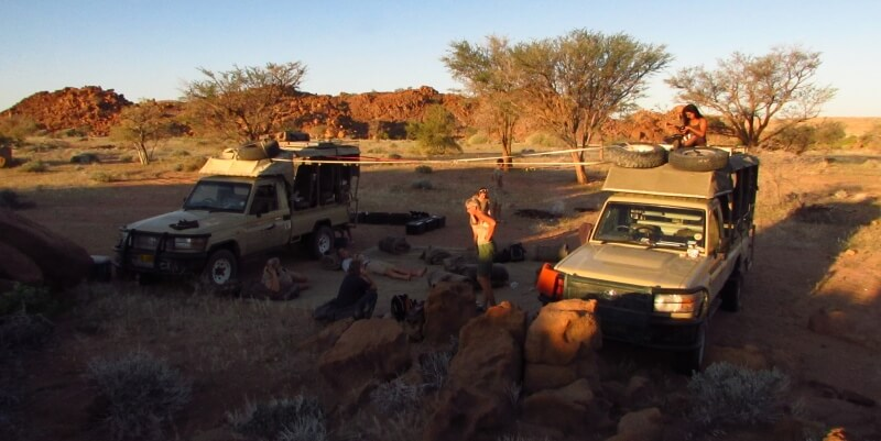 Namibie olifantenproject Patrol week 7