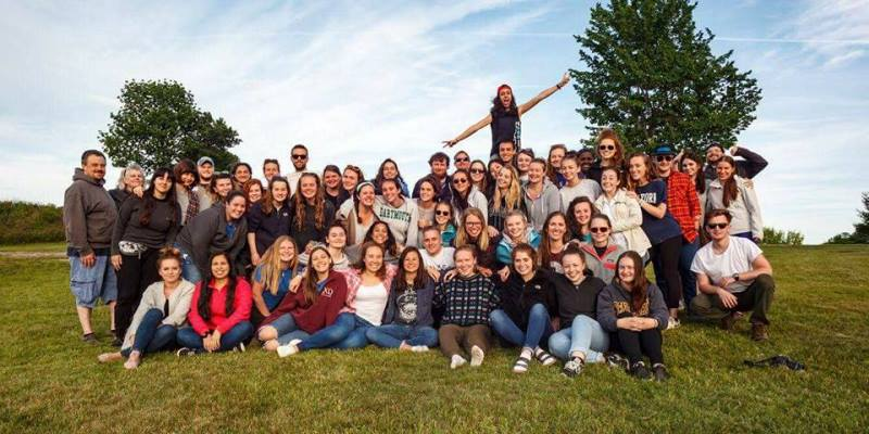 Summercamp USA Annemijn 2017 staff