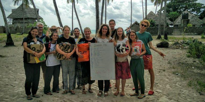 Tanzania Zanibar Dolphin Research and Marine Conservation donationa drop