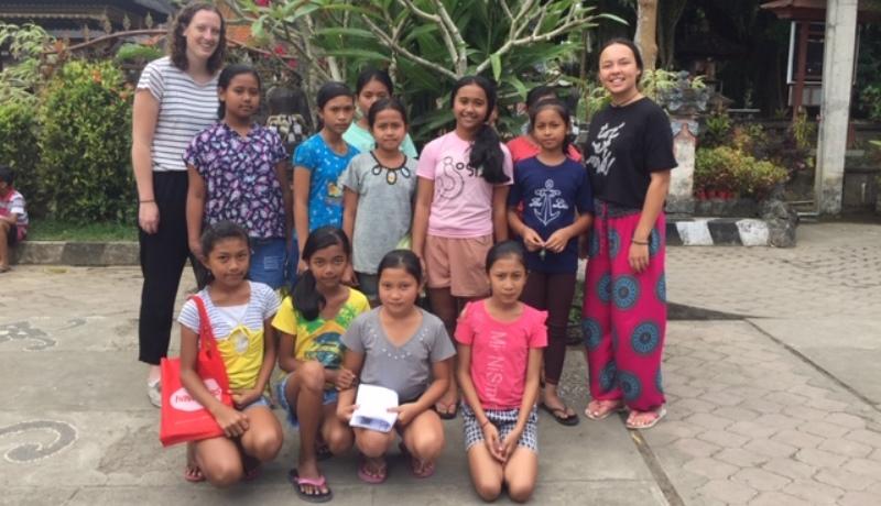 Vrijwilligerswerk in Bali Manon 2