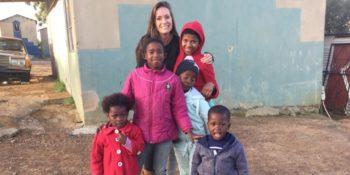Zuid-Afrika reisverslag Yvette bezoekt project