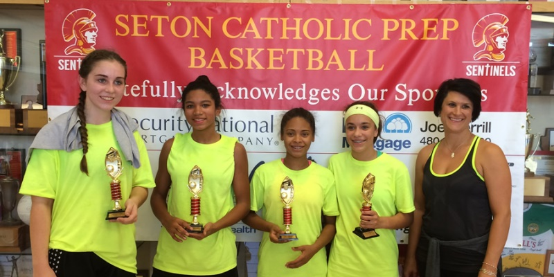 Highschool USA Arizona Seton Catholic Prep basketball