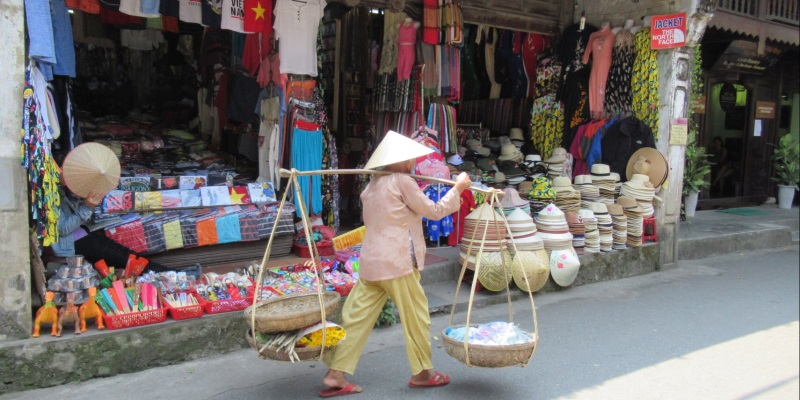 Vietnam foto Lisa straatbeeld