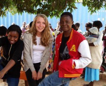 Zambia Anniek vrijwilligerswerk