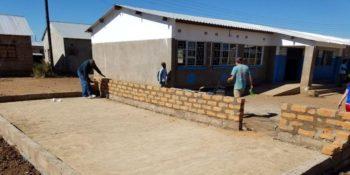 Zambia Bouwproject huizen bouwen