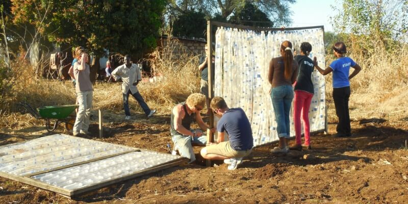 Zambia Eco bricking 2