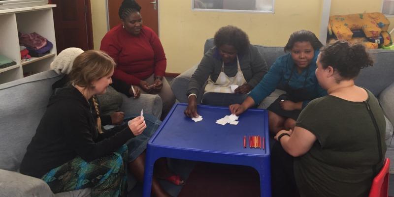 Zuid-Afrika vrijwilligerswerk Kaapstad DIY girls impact 2