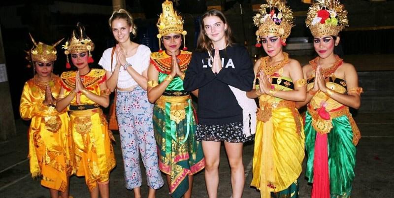 Bali Anouk bij dansshow