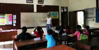 Bali Anouk lesgeven