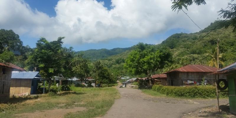 Indonesie vrijwilligerswerk op Flores traditioneel dorp jpg
